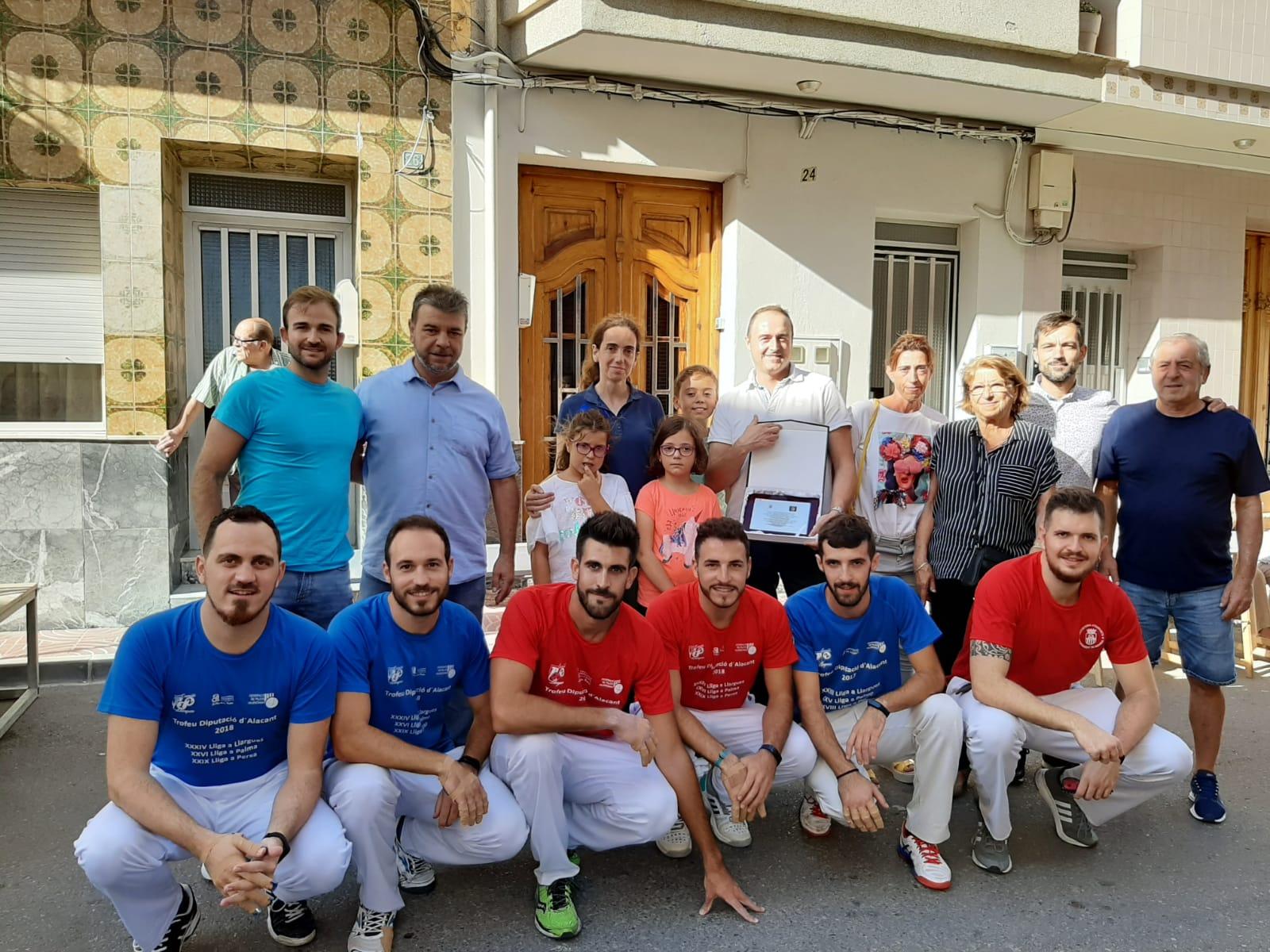Participantes do jogo Valencian Pilot