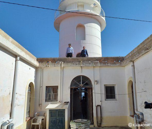 Imagen: Pedro Duque visita el Faro San Antonio