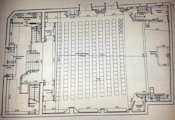 Imagen: Plano del interior del Central Cinema