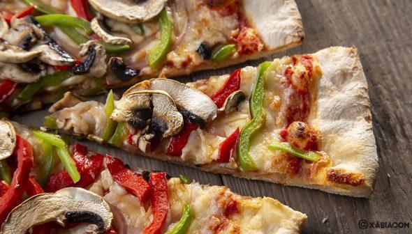 Изображение: порции пиццы - ресторан Ammos