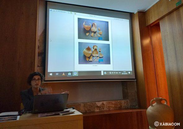 Imagen: Presentación de las piezas restauradas para el Museo Soler Blasco