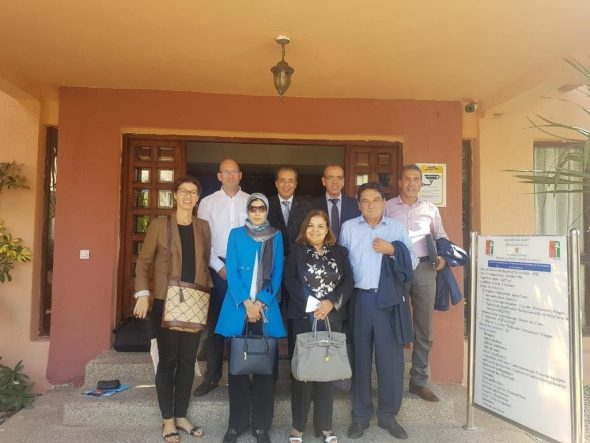Imatge: Projecte de formació entre Baleària i el govern marroquí