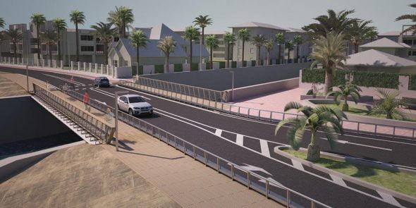 Imatge: Projecte virtual de l'obra del Pont de Triana