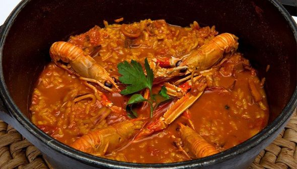 Bild: Arroz meloso - Trencall Restaurant