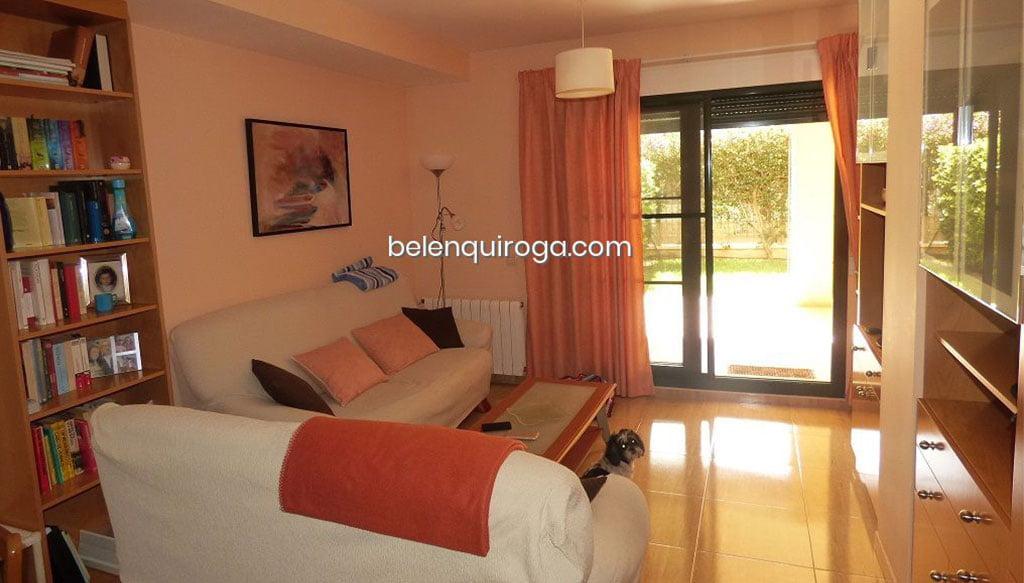 El salón sale a una terraza cubierta – Inmobiliaria Belen Quiroga