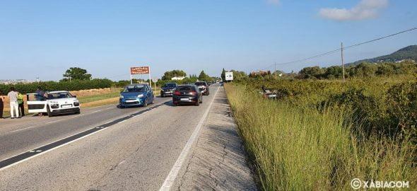 Imagen: Situación del accidente