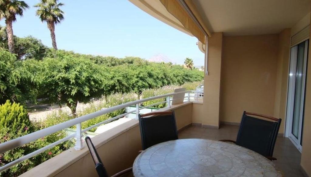 Terrassa d'un apartament llest per entrar a viure a Xàbia - AR Luxury Living