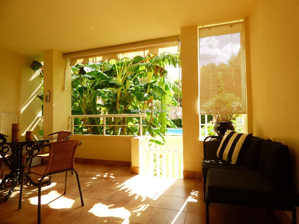 Terraço de apartamento à venda em Jávea - Inmobiliaria Belen Quiroga