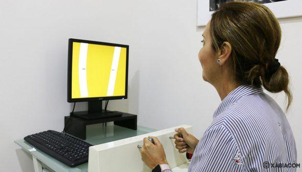 Imagen: Test en el Centro de Reconocimiento de Conductores Jávea en Policlínica CUME