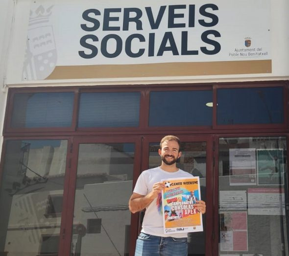 Imagen: Víctor Bisquert, Concejal de Juventud de Benitatxell