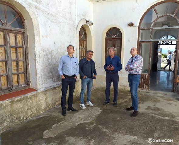 Imagen: Visita de Pedro Duque al Faro San Antonio