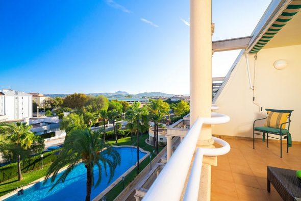 Imagen: Vistas desde un apartamento para cuatro personas en Jávea - Aguila Rent a Villa