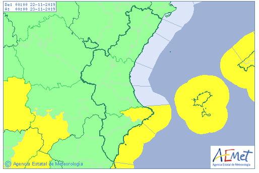 Imagen: AEMET decreta alerta amarilla para el fin de semana