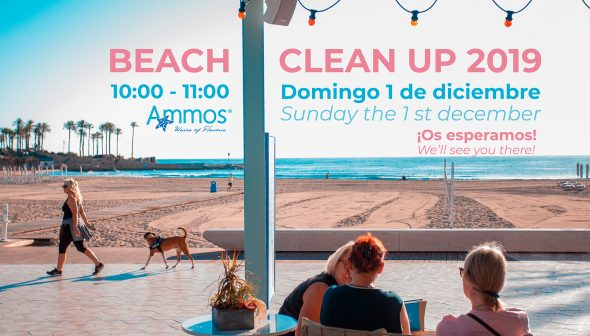 Imagen: Ammos y Xàbia.com se unen para la jornada de limpieza de la Playa del Arenal