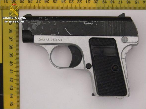 Imatge: Arma utilitzada en el robatori