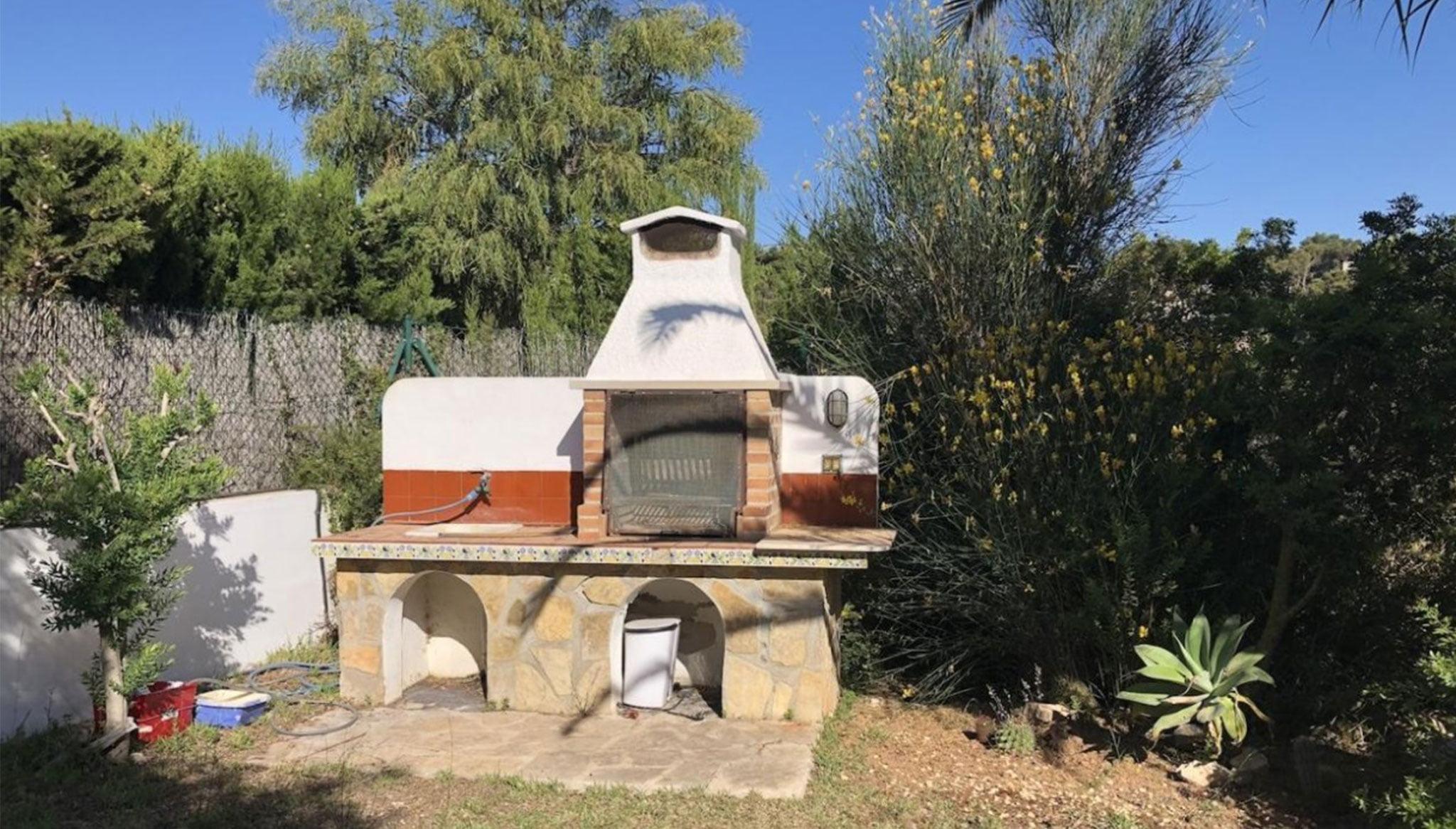 Barbacoa en una vila en venda a Xàbia - Terramar Costa Blanca