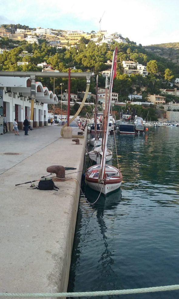 Imatge: Barques Tradicionals al Port de Xàbia