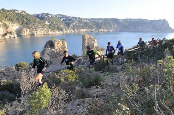 Atleten tijdens een van de edities van de Granadella Trail
