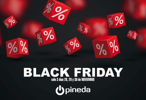 Imagen: Black Friday en Electrodomésticos Pineda