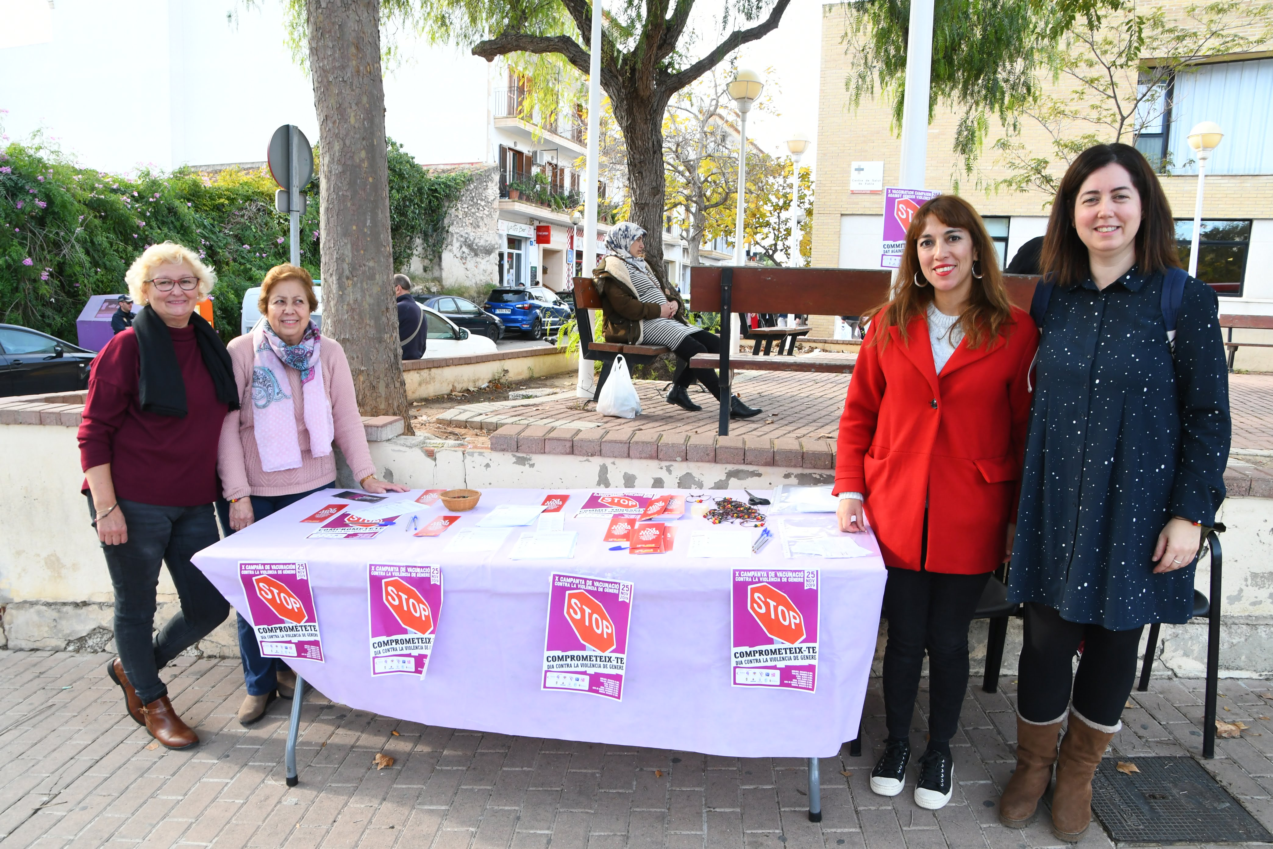 Campagne de vaccination contre la violence de genre