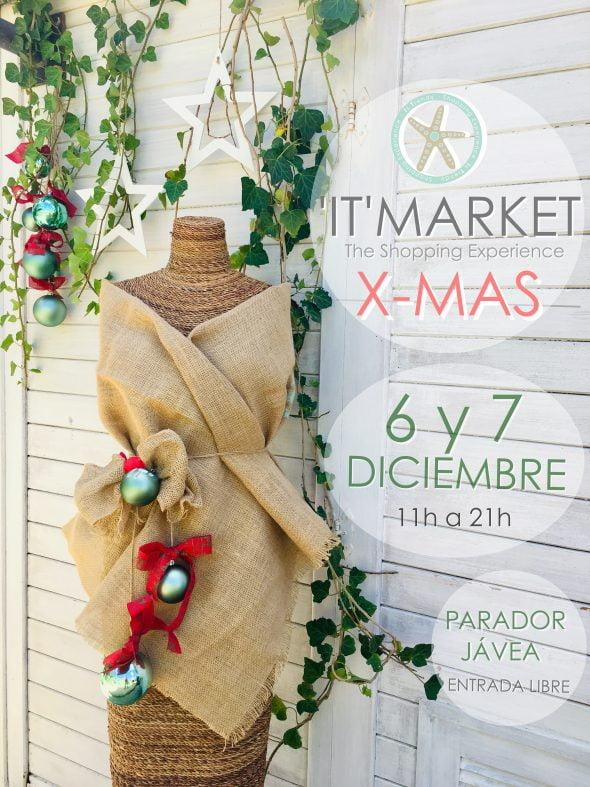Imagen: Cartel del IT Market Christmas