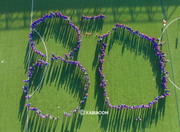 Imagen: Celebración 80 aniversario CD Jávea