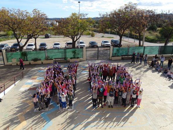Imagen: Celebración del 25N al Trenc d'Alba