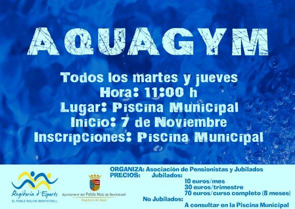Imagem: Aulas de Aquagym em Benitatxell