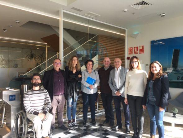 Bild: Vereinbarung zur Ausbildung im nautischen Bereich mit Baleària
