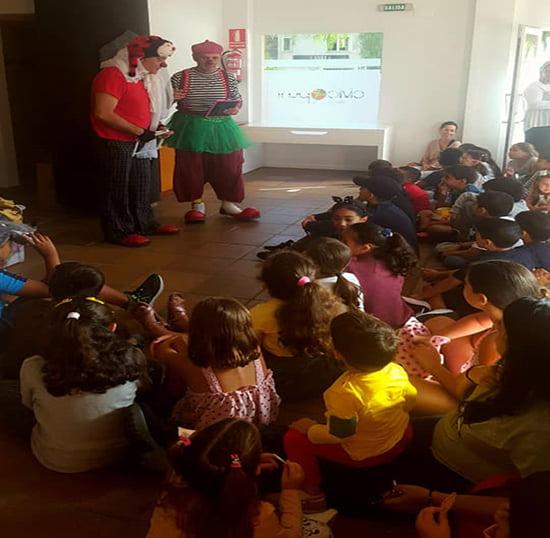 Imagem: Contador de histórias Civic Punt Arenal