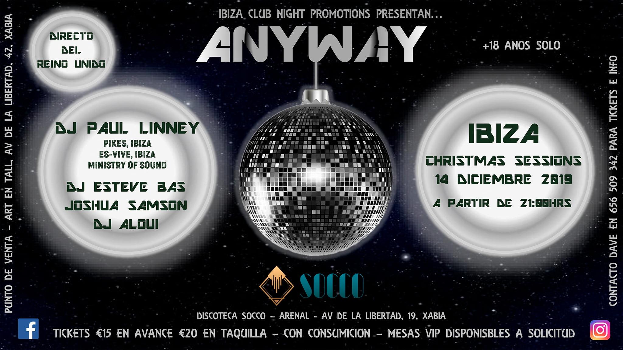 Evento Anyway in Socco Jávea