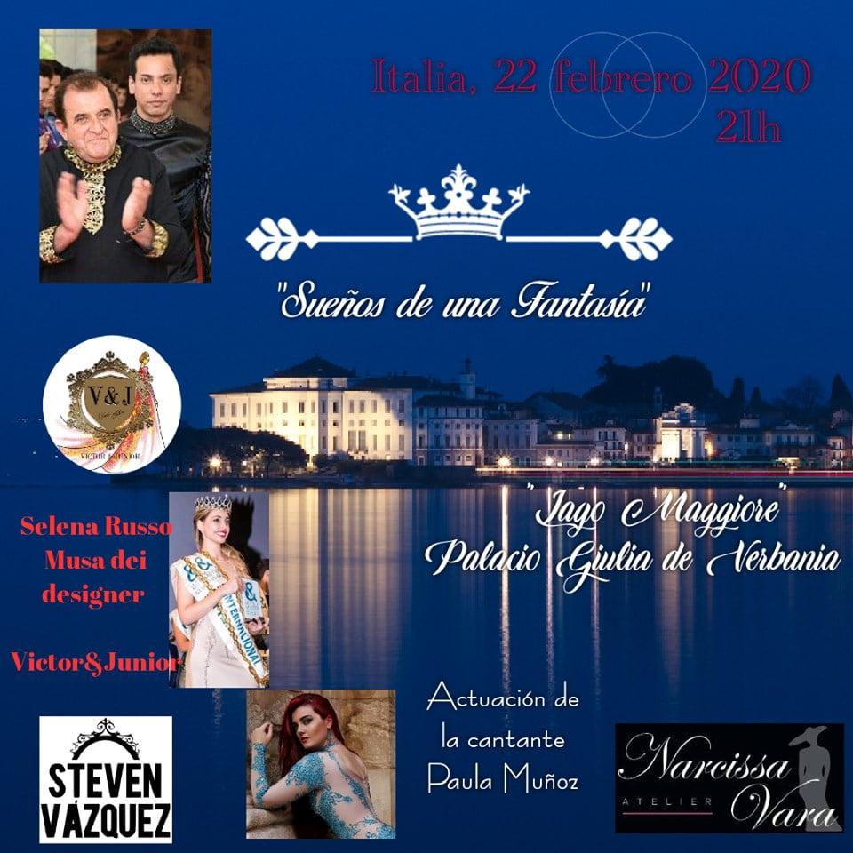 Esdeveniment de moda a Milà, en el qual participarà Oscar Alvaro