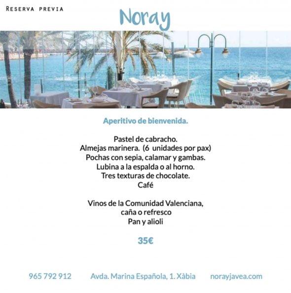 Image: Le restaurant Noray participe à l'événement gastronomique 2019 Xàbia al Plat Mariner