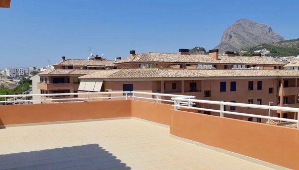 Bild: Große Dachterrasse zum Verkauf in Jávea- MORAGUESPONS Mittelmeerhäusern