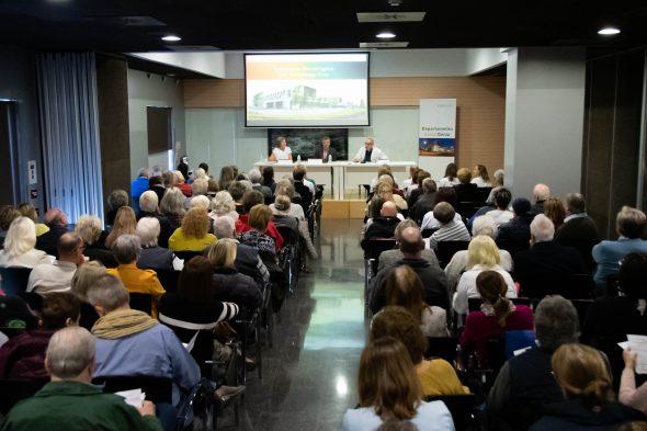 Immagine: prima conferenza di oncologia all'ospedale di Denia
