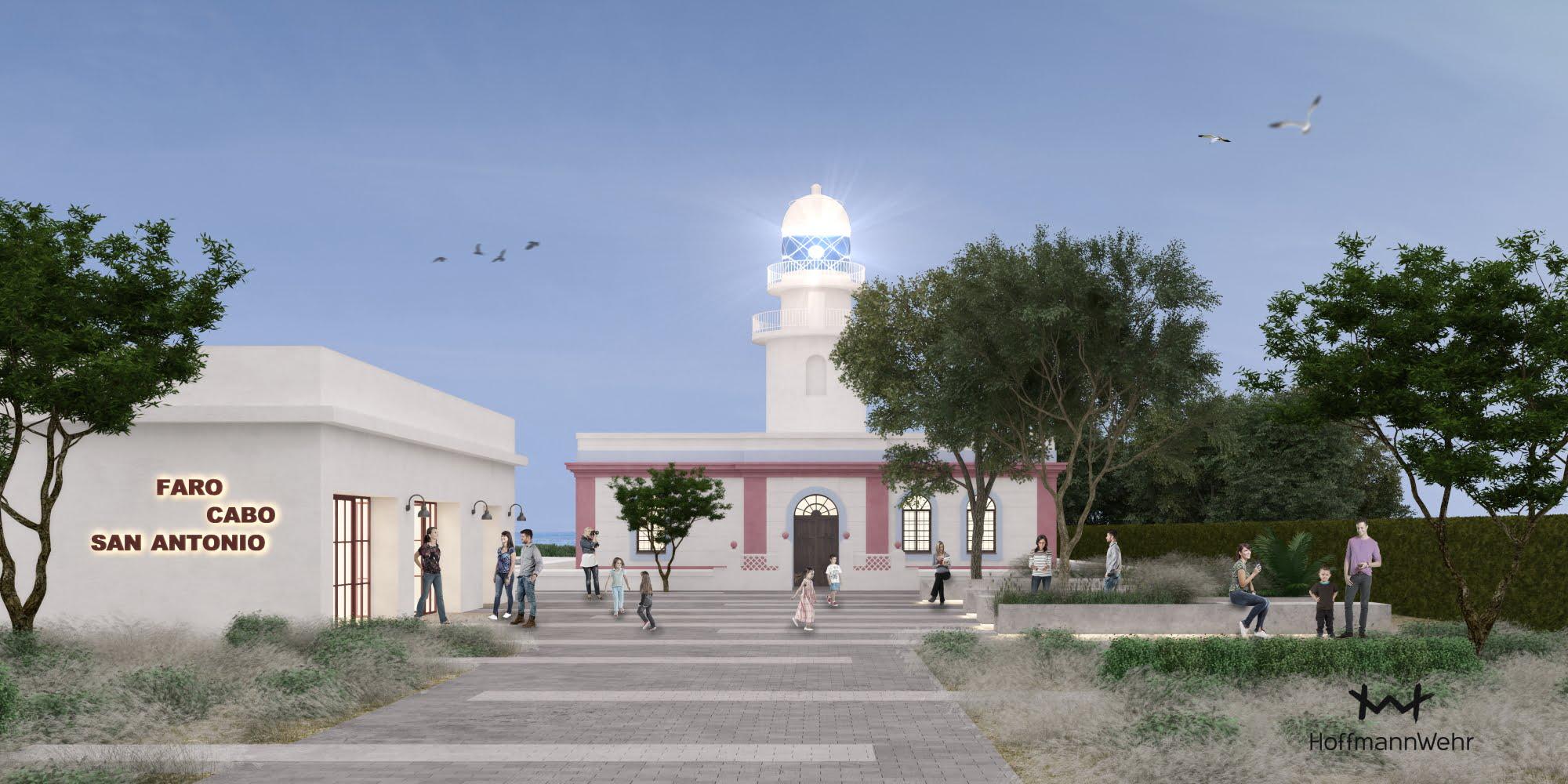 Imagen del proyecto básico del Faro del Cap de Sant Antoni