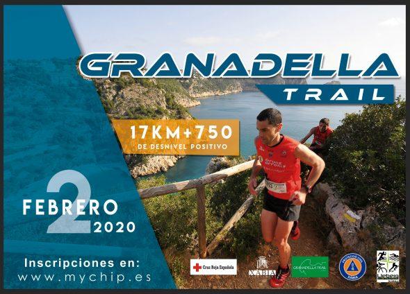 Imagen: Cartel de la Granadella Trail 2020