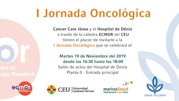 Imatge: Jornada d'Oncologia a l'Hospital de Dénia