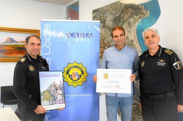 Imagen: La empresa Ricasa dona 1000 euros 'Pels Valents'