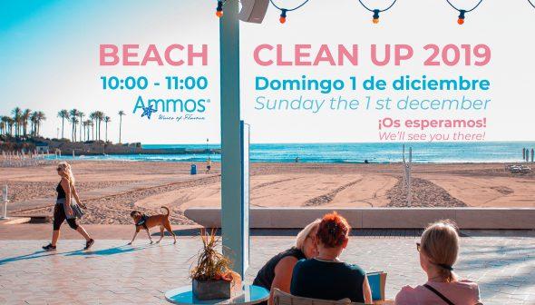 Imagen: Limpieza de playa del Arenal - Restaurante Ammos