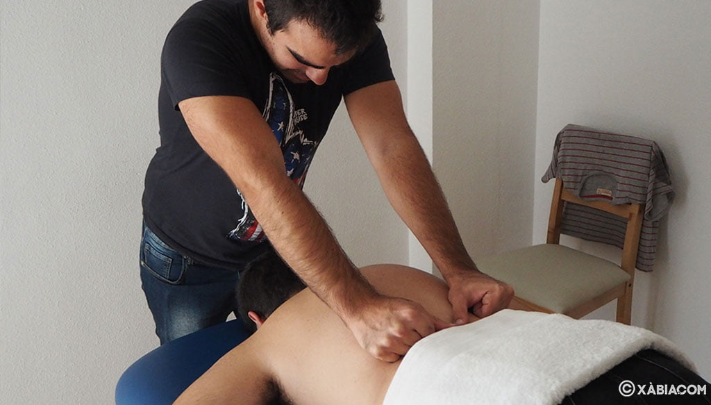 Masaje específico para la práctica de deporte en BONAVIDA