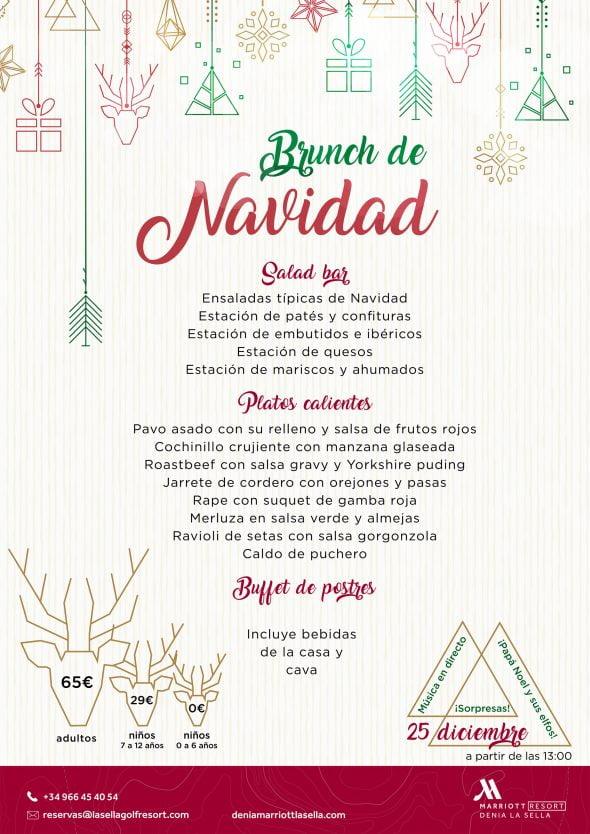 Imagen: Menú Bruch de Navidad Hotel Dénia Marriott La Sella Golf Resort & Spa