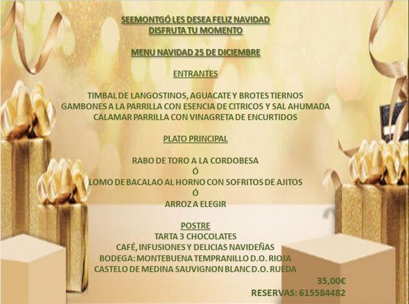 Imatge: Menú de Nadal a Xàbia - Restaurant SeeMontgó