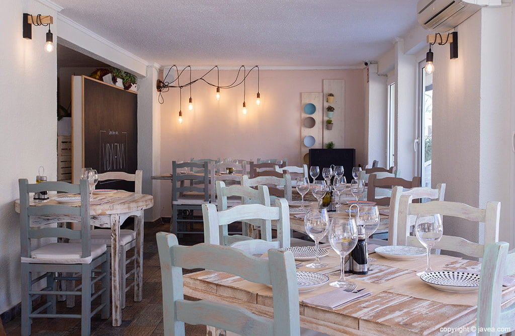 Sala de jantar interior no VidaFina