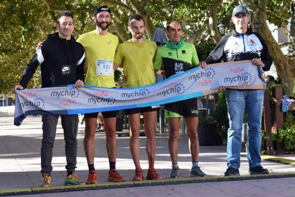 Image: Nasio Cardona sur le podium de Pego
