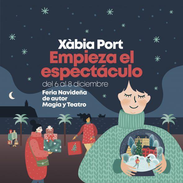 Imagen: Navidad en Xàbaia Port