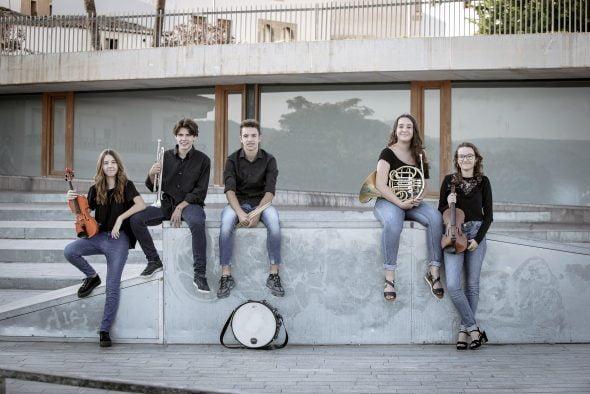 Imatge: Nous músics de Centre Artistic Musical de Xàbia
