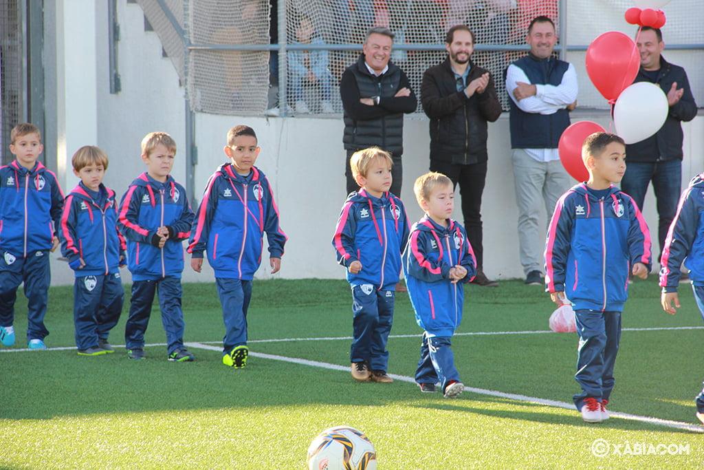 Presentación de la Escuela de fútbol del CD Jávea