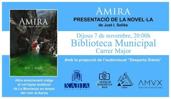 Image: présentation du livre Amira