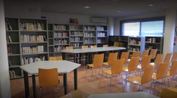 Изображение: Зал библиотеки Эль-Побле Ноу-де-Бенитаткселл